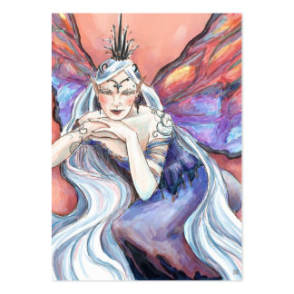 Queen Titania Gift Tag Large Business Card