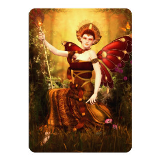 Queen Titania Invite (customizable)