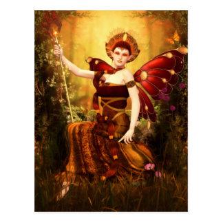 Queen Titania Postcard