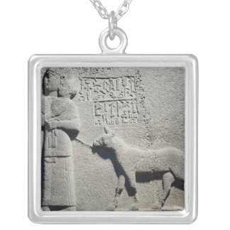 Queen Tuwarissa, wife of King Araras Silver Plated Necklace