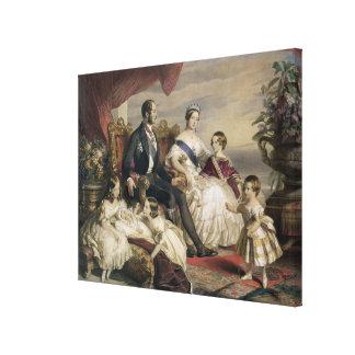 Queen Victoria (1819-1901) and Prince Albert (1819 Canvas Print