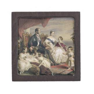 Queen Victoria (1819-1901) and Prince Albert (1819 Premium Trinket Box