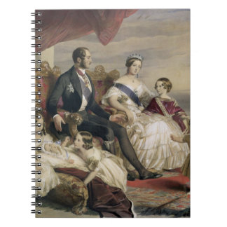 Queen Victoria (1819-1901) and Prince Albert (1819 Spiral Notebook