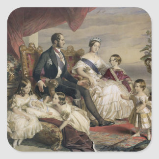 Queen Victoria (1819-1901) and Prince Albert (1819 Sticker