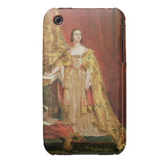 Queen Victoria (1819-1901) Taking the Coronation O Case-Mate iPhone 3 Cases