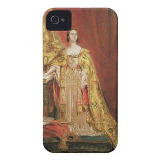 Queen Victoria (1819-1901) Taking the Coronation O Case-Mate iPhone 4 Case