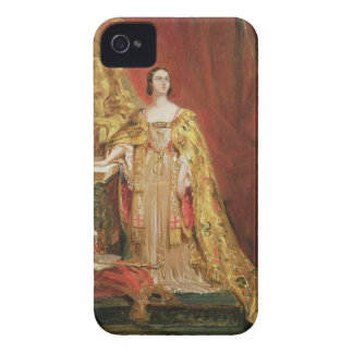 Queen Victoria (1819-1901) Taking the Coronation O iPhone 4 Cases