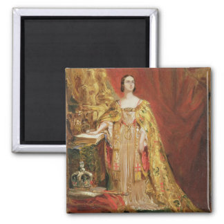 Queen Victoria (1819-1901) Taking the Coronation O Magnet