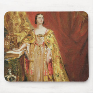 Queen Victoria (1819-1901) Taking the Coronation O Mouse Pad