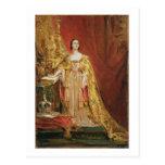 Queen Victoria (1819-1901) Taking the Coronation O Postcard