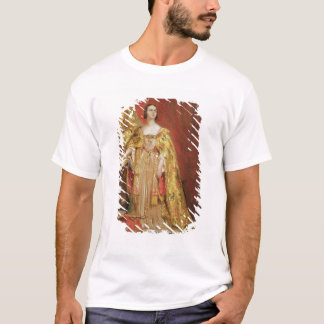 Queen Victoria (1819-1901) Taking the Coronation O T-Shirt