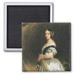 Queen Victoria  1842 2 Inch Square Magnet