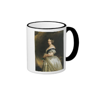 Queen Victoria  1842 Ringer Coffee Mug