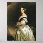 Queen Victoria  1842 Poster