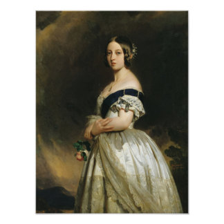 Queen Victoria  1842 Print