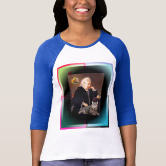 "Queen Victoria and her Cat ""Dusty"" T-Shirt"