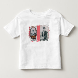 Queen Victoria and Prince Albert bookmarks Toddler T-shirt