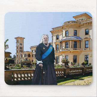 Queen Victoria at Osborne House Mouse Pad