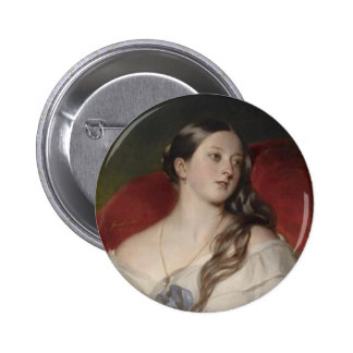 Queen Victoria Button
