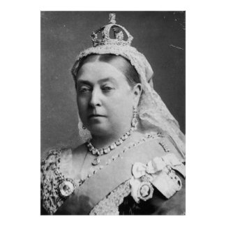 Queen Victoria by Alexander Bassano Poster