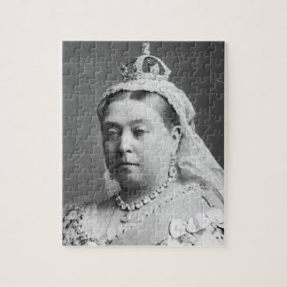 Queen Victoria by Alexander Bassano Jigsaw Puzzles