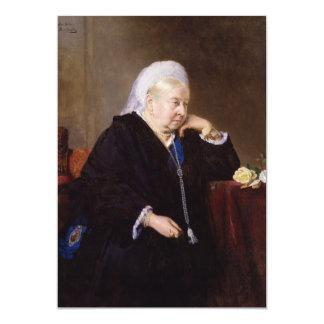 Queen Victoria by Heinrich von Angeli Custom Invitations