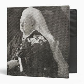 Queen Victoria  c.1899 3 Ring Binder