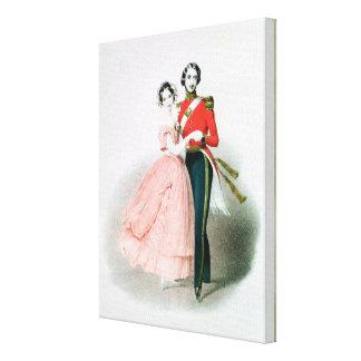 Queen Victoria Canvas Print
