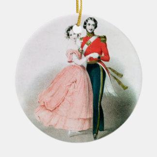 Queen Victoria Ceramic Ornament