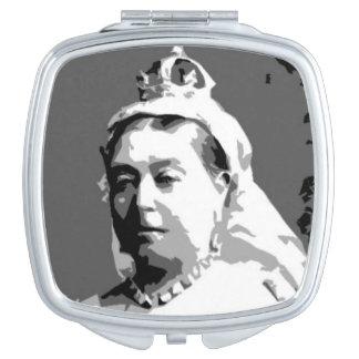Queen Victoria Compact Mirror