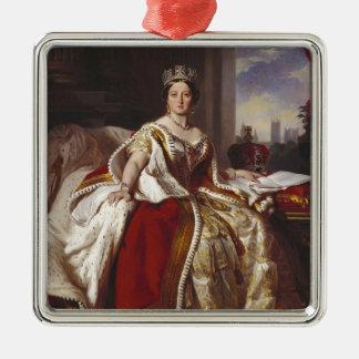 Queen Victoria: Coronation Metal Ornament