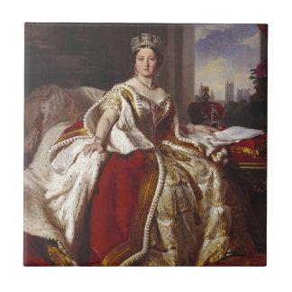 Queen Victoria: Coronation Tile