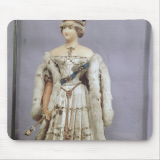 Queen Victoria  doll Mouse Pad