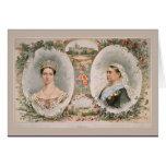 Queen Victoria Golden Jubilee Poster Card