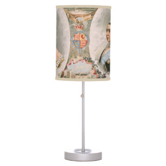 Queen Victoria Golden Jubilee Poster Table Lamp