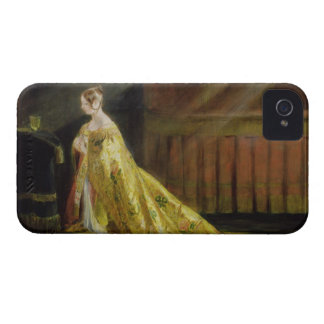 Queen Victoria in Her Coronation Robe, 1838 (oil o iPhone 4 Cover