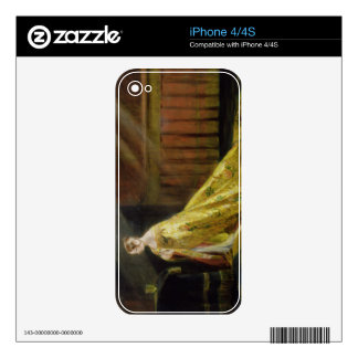 Queen Victoria in Her Coronation Robe, 1838 (oil o iPhone 4 Skin