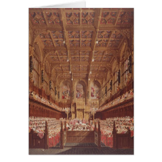 Queen Victoria in the House of Lords Card