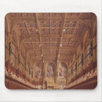 Queen Victoria in the House of Lords Mouse Pad