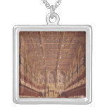 Queen Victoria in the House of Lords Square Pendant Necklace