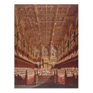 Queen Victoria in the House of Lords Postcard