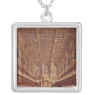 Queen Victoria in the House of Lords Silver Plated Necklace