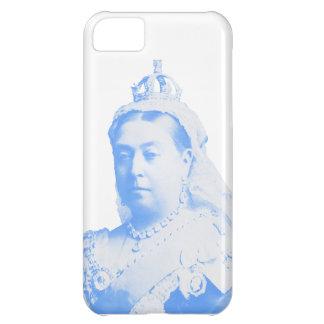 Queen Victoria iPhone 5 Case Light Blue White