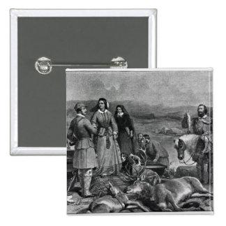 Queen Victoria landing at Loch Muick Button