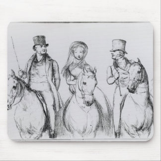 Queen Victoria, Lord Melbourne and Lord Russell Mouse Pad