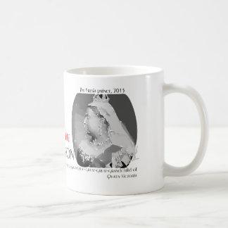 Queen Victoria Classic White Coffee Mug
