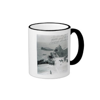 Queen Victoria on the French Coast Coffee Mugs