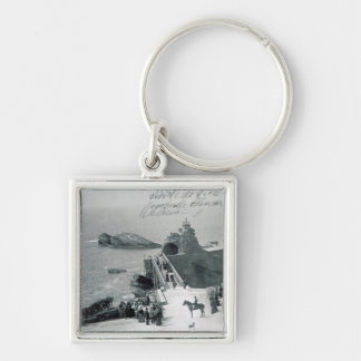 Queen Victoria on the French Coast Keychain
