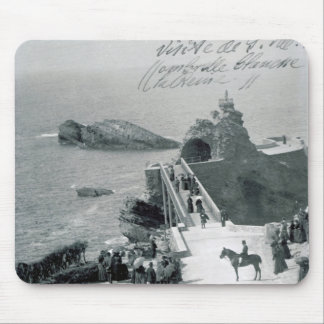 Queen Victoria on the French Coast Mouse Pad
