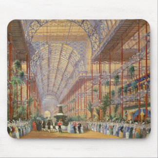 Queen Victoria Opening the 1862 Exhibition after C Mouse Pad